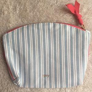 Ipsy Striped Bag